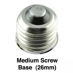 medium screw base led (26mm)