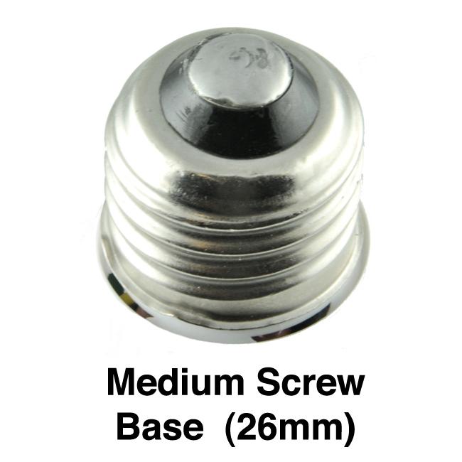 medium screw base led 26mm