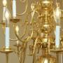 Chandelier LED Light Bulb, Clear, Bent Tip, Aluminum