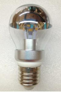 A19 LED Energy-Saving Lamp, Clear Silver Bowl, 4 Watt
