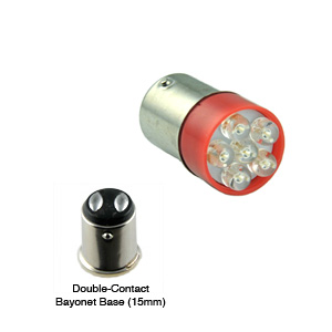 Bayonet LED Double Contact