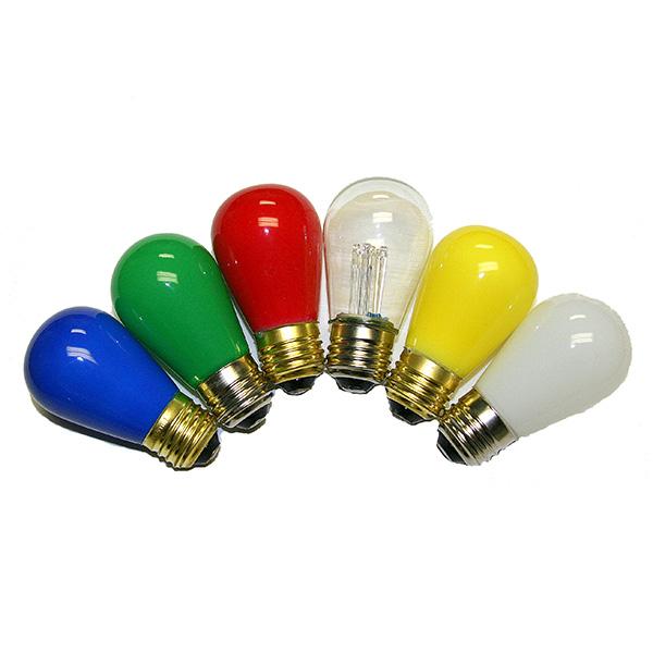 colored led light bulbs